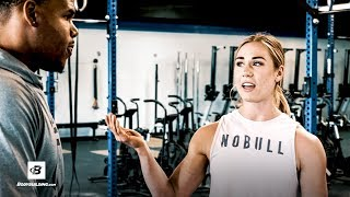 """Brooke Wells CrossFit Challenge   On the Go With Ron """"Boss"""" Everline"""