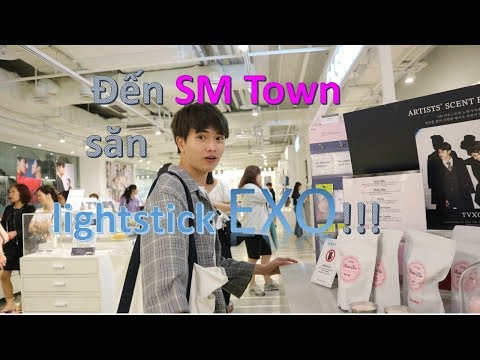 SM Town - Thiên đường của fan EXO, SNSD, SuJu, Redvelvet, NCT, DBSK ...