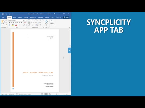 Syncplicity Product Feature - App Tab