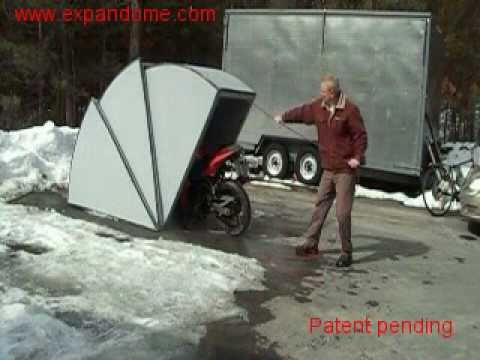 Motorcycle Shelter Youtube