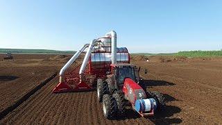 Peat harvesting (Добыча торфа - ГК «Торфяная поляна» 2016) / ООО «Экопром» / HD