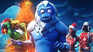YETI RUINS CHRISTMAS?! | A Fortnite Film