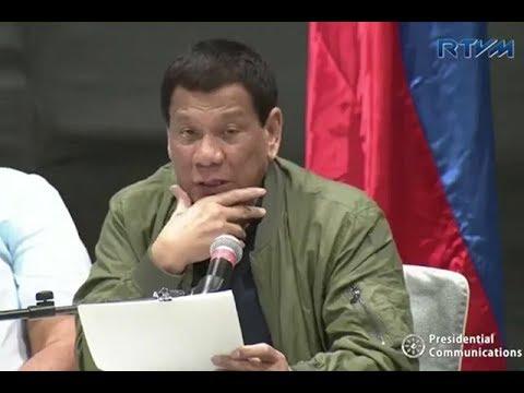 Mga pulitikong sangkot umano sa iligal na droga, pinangalanan na ni Pangulong Duterte