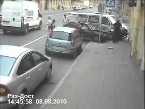 Неверојатна среќа при сообраќајка