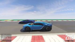 GTA 5 Top Speed Drag Race (Truffade Nero vs. T20)
