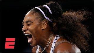 Serena Williams fights off Tamara Zidansek in straight sets | 2020 Australian Open Highlights