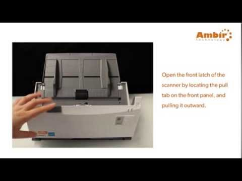 ImageScan Pro 900 series - Feed Pad Removal - Ambir Technology