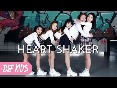 [키즈댄스 No.1] TWICE (트와이스) - Heart Shaker KPOP DANCE COVER / 데프키즈수강생 평가 방송안무 가수오디션 정보 실용음악학원 defdance