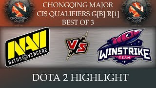 NaVi vs Winstrike Chongqing Major 2018 Dota 2 Highlights [25-Nov-2018]