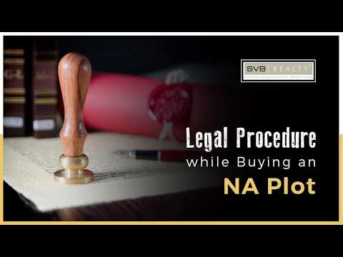 Legal Procedure for Buying NA Plots in Pune