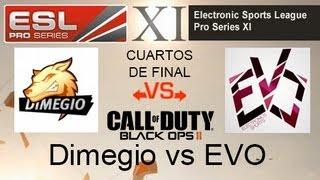 CoD: EVO vs Dimegio - ESL