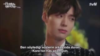 Kore dizi  - Kapıdan giren ilk kız :D
