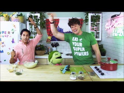 Episode #1- Maulik Pancholy & Suzy Sweet Pea: Cauliflower Mash Up
