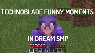 Technoblade Funny Moments in Dream SMP