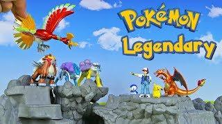 Legendary Pokemon Ho-Oh Entei Suicune Raikou