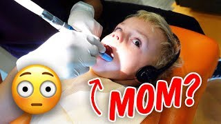 CALVIN GOES TO THE DENTIST AGAIN! Is It GOOD Or BAD?! - Ellie And Jared