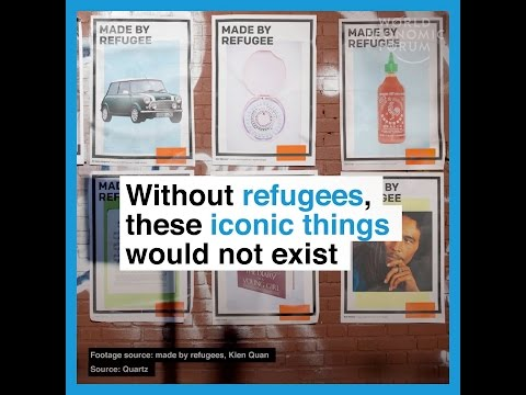 Without refugees, these iconic things would not exist