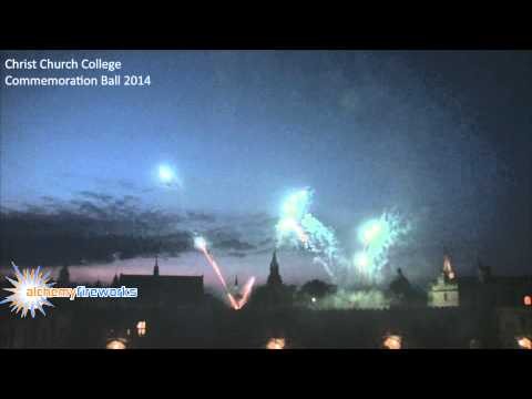Christ Church College Commemoration Ball Fireworks 2014