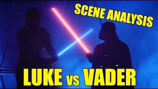 Scene analysis: Luke Skywalker vs Darth Vader in THE EMPIRE STRIKES BACK (updated)