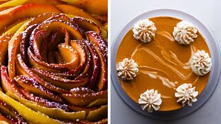 It's Fall, Y'all! Celebrate Autumn with these 5 Cozy Desserts! Dessert Recipes by So Yummy