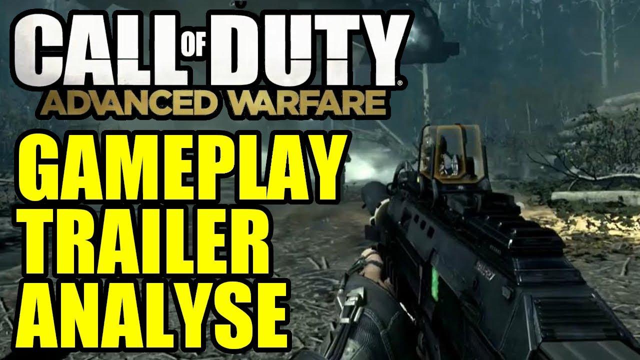 Call of duty : Advanced Warfare Gameplay Trailer Analyse ...