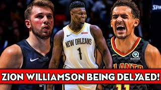 ZION BEING PUSHED BACK! TRAE YOUNG ANNOYED WITH LUKA DONCIC!   NBA News