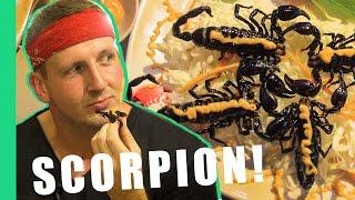 Eating Scorpion in Vietnam! | Bizarre Food Of Vietnam