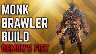 Dark Souls 3 - Demon's Fist PvP - Monk Brawler Build