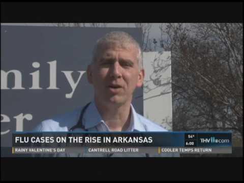 Dr. David Gerson Talks Rising Flu Cases