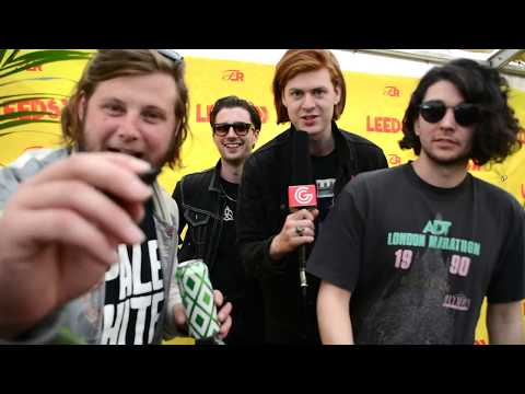 THE AMAZONS Interview // Leeds Festival 2017