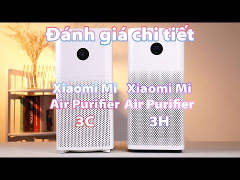 Đánh giá chi tiết bộ đôi MÁY LỌC KHÔNG KHÍ MI AIR PURIFIER 3C VÀ MI AIR PURIFIER 3H tại event Xiaomi
