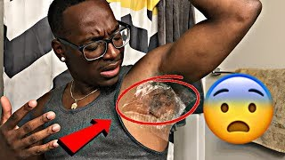 """ARMPIT WAXING PRANK"" ON HUSBAND & HE CRIED 