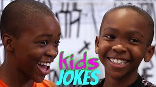 You Laugh, You Lose | Zay Zay vs. JoJo (Kids Jokes pt.1)