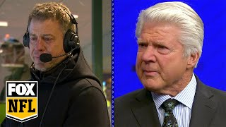 Jimmy Johnson, Troy Aikman moved to tears at surprise HOF announcement | FOX NFL