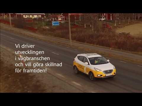 Svevia först i byggbranschen med vätgasbil!