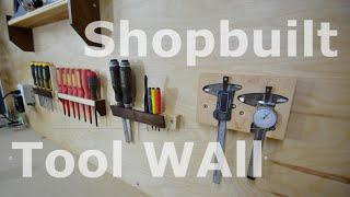 Shop organization - Tool wall
