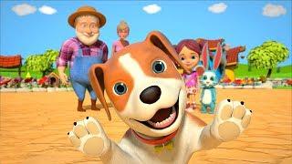 Bingo Dog Song | Kindergarten Nursery Rhymes Songs For Children | Kids Cartoons | Little Treehouse
