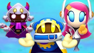 Kirby Vs Magolor Taranza Susie & Jambastion Mages Battle (Future DLC Characters - Kirby Star Allies)