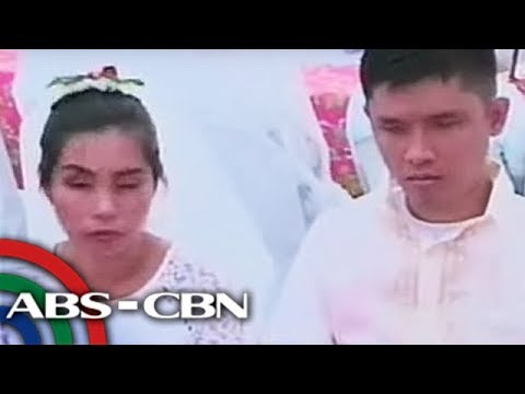 TV Patrol Chavacano: Man maridable bulag cuantos del quien ya atende con el mass wedding na ecozone
