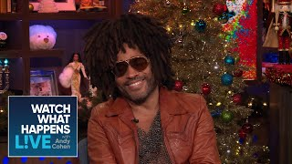 Lenny Kravitz On Zoe Kravitz Working With Ex Nicole Kidman | WWHL