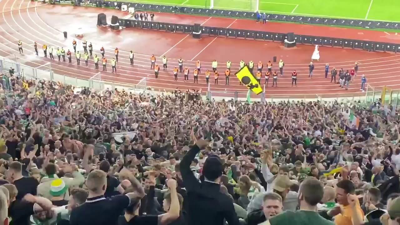 Celtic Fans in Rome | Papa Francesco ale | Lazio 1 - 2 Celtic