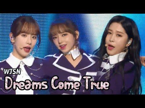 [HOT] WJSN - Dreams come True, 우주소녀 - 꿈꾸는 마음으로 Show Music core 20180317