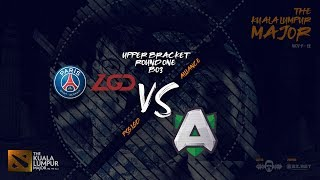 [DOTA 2 LIVE PH] PSG.LGD VS Alliance |Bo3| The Kuala Lumpur Major Group Stage UP - YouTube