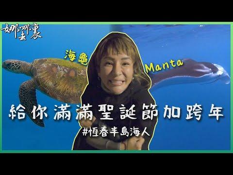 梁云菲NANA|娜去哪裏#1 台灣史上第一次水肺自潛跨年|聖誕節到跨年一路玩到掛!#恆春#半島海人