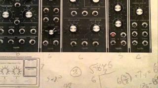 Homemade analog synth