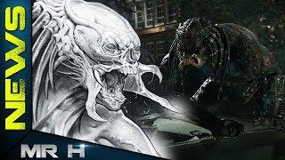 Terrifying New Concept Art For The Human Predator Hybrid - The Predator 2018