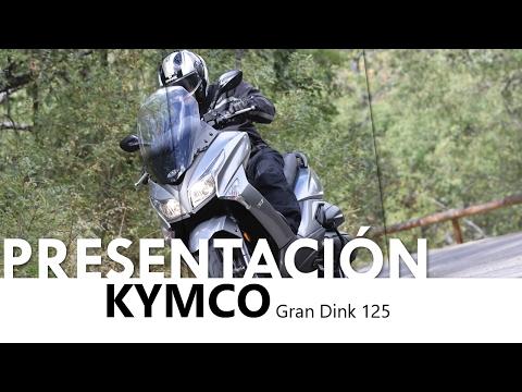 Kymco Grand Dink 125 2016 - Presentación - castellano - 2016