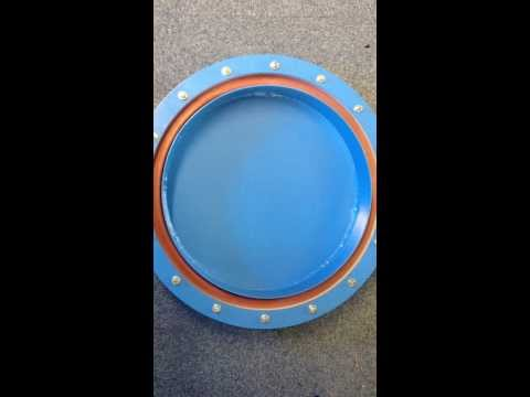 Pressure Test of Vacuum Inflatable Membrane