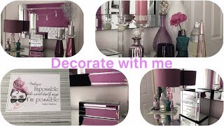 Glam Bedroom Decor -Decorate with me