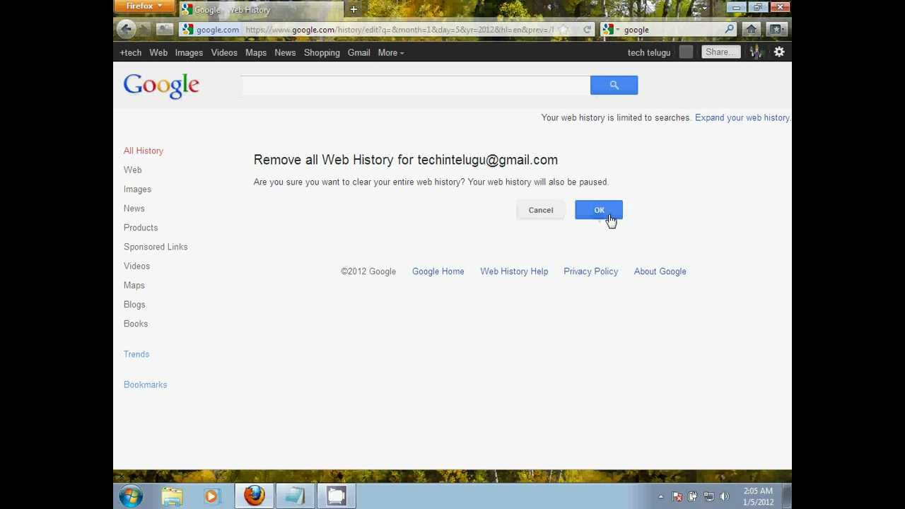 How To View Search History From Google, How To Delete